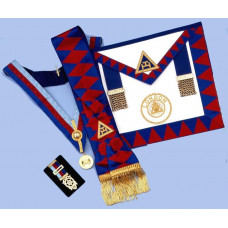 Ra  Provincial Set - Apron, Sash, Collar,jewel & Small Breast Jewel