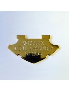 Collar Nameplate