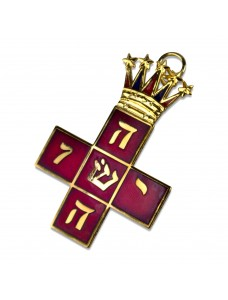 A008 Rose Croix Mws Collarette Jewel