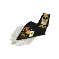 Rose Croix 30th Degree Sash Hand Embroidered