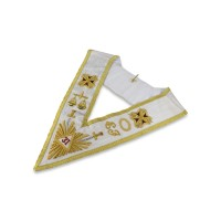 Rose Croix 31st Degree Collar    Hand Embroidered