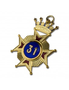 Rose Croix 31st Degree Star Jewel