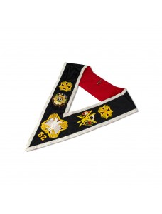 Rose Croix 32nd Degree Collar Hand Embroidered