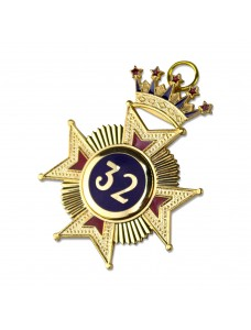 Rose Croix 32nd Degree Star Jewel