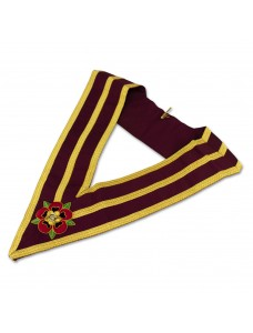 Athelstan Grand Lodge Collar  - Hand Embroidered Emblem