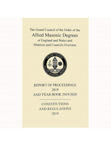 Allied Masonic Degrees Year Book