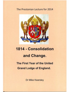 1814 - Consolidation and Change