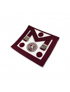 Craft Prov Steward Apron - Lambskin (rosettes) Incl Badge