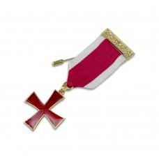 Kt Cross Breast Jewel