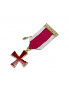 K004 Kt Cross Breast Jewel