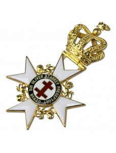 Kt Past Preceptor & Prior's Collarette Jewel      (With Name)