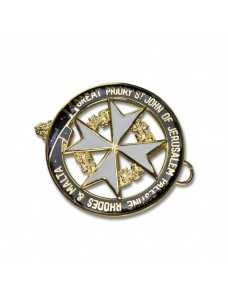Knights Malta Great Priory Collarette Jewel