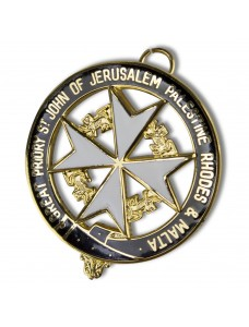 Knights Malta Great Priory Collarette Jewel