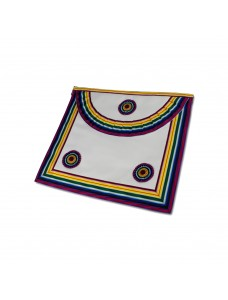N102 Royal Ark Mariner Members Apron Lambskin With Pocket