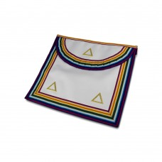 N106 Ram Grand Officers Apron Standard Quality Gilt Triangles