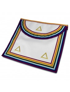 Ram Grand Officers Apron Standard Quality Gilt Triangles