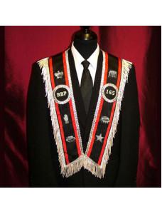 RBP Officer Collar with 6 Emblems