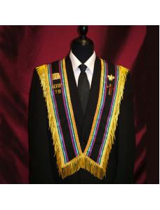 RBP Multi Colour Cross Collar with 2 Emblems