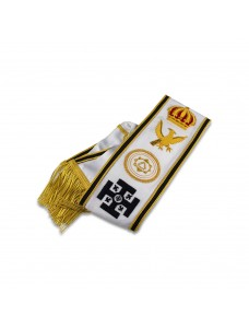 X025 Khs Grand Officers Sash Hand Embroidered Best Quality