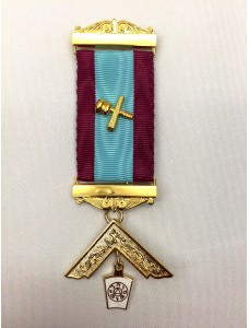 Mark Pm Breast Jewel As M012 With Name & Number Of Lodge Engraved On Bars