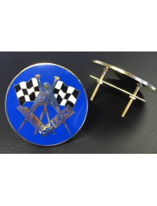 Masonic Car Radiator Badge