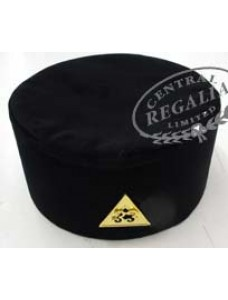 Rose Croix 33rd Degree Cap With Badge