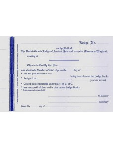 Craft Clearance Certificate Book