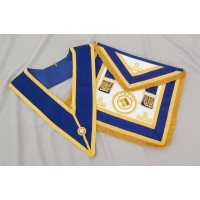 Craft Prov F/d Apron & Collar (incl.  Badge) - Imitation Lambskin