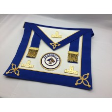 C029 Ladies Craft Prov U/d Apron Only  Lambskin, Pocket With Badge M/g Levels