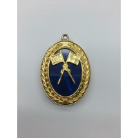 Craft Grand Lodge Past Rank Collar Jewel