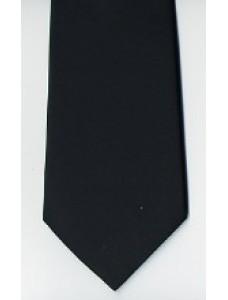 Craft Plain Black Tie