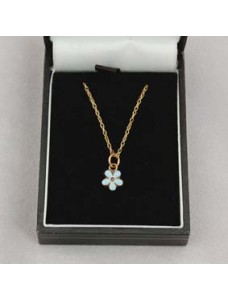 Forget Me Not Necklace 9ct Gold
