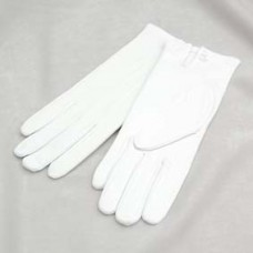 G100 White Gloves (state Size)