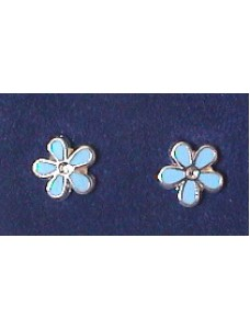 Forget Me Not Earrings Stering Silver