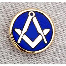 Craft Lapel Badge S&c On Blue Enamel   Clutch Back Fitting