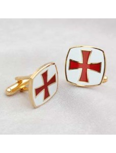 Kt Cuff Links Metal Gilt