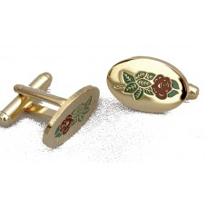 Cuff Links - Rose Croix