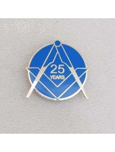 G322  Lapel Pin - Craft 25 Year