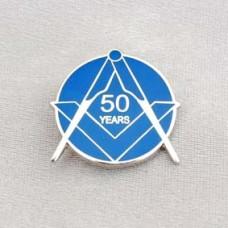G324  Lapel Pin - Craft 50 Year