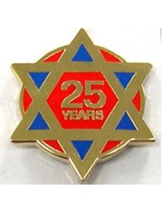 Lapel Pin - Ra 25 Year
