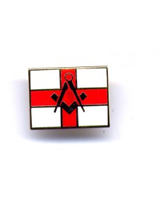 Lapel Pin - S&c On St George Flag