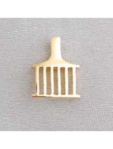 Allied Lapel Pin - Gilt