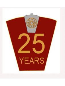 Mark 25 Year Lapel Pin