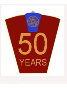 Mark 50 Year Lapel Pin