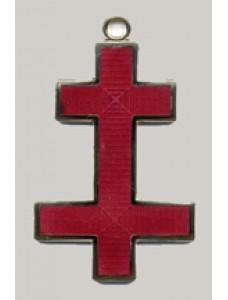 Kt Preceptors Cross Jewel For Collarette   (active)