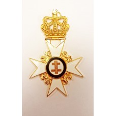 Kt Past Preceptor & Prior's Collarette Jewel      (no Name)