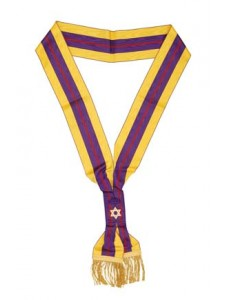 Osm Second Degree Officers Sash