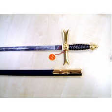 Z030 Osm Sword & Scabbard Purple