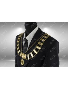 """Civic Chain of Office - """"Year Bar"""" - Style 4"""