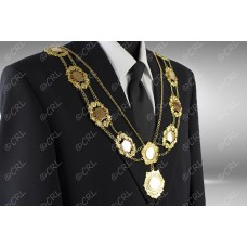 """Civic Chain of Office - """"County"""" - Style 8"""